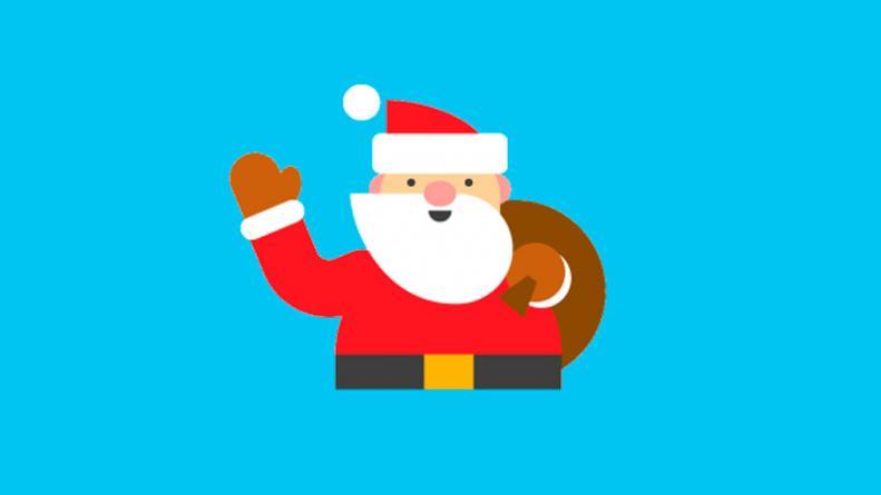 Imagenes Gratis De Papa Noel.Segui El Viaje De Papa Noel En Vivo Eldoce Tv