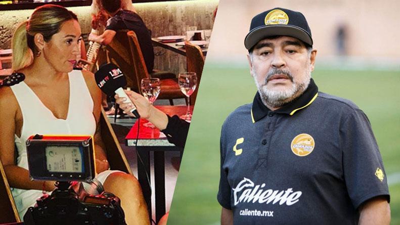 """El insólito y """"futbolístico"""" motivo por el que Maradona y Rocío ... 6dcf0ea1e704c"""