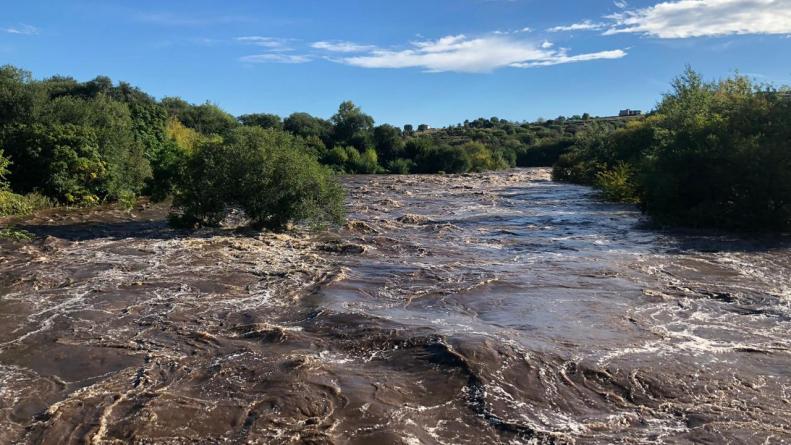 crecida rio san antonio