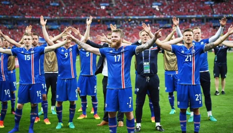 La selección de Islandia busca hinchas para el mundial
