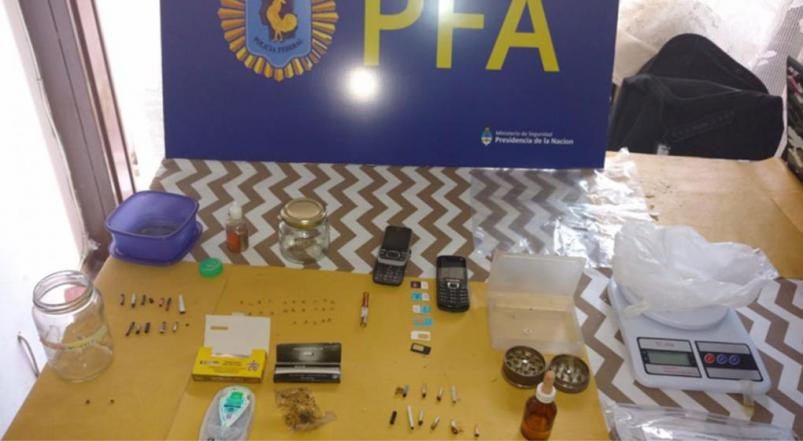 Decomisan en Argentina 500 dosis de potente droga