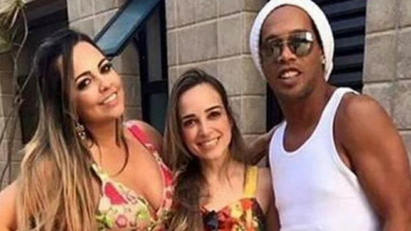 ¿Se casa? Ronaldinho habla sobre el rumor del matrimonio con sus dos novias
