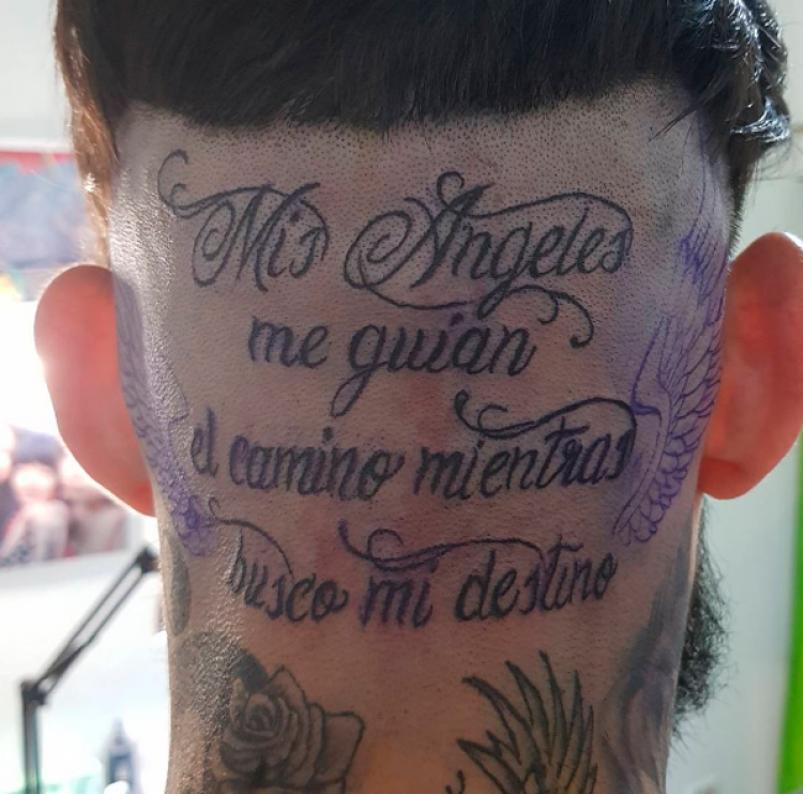 Ulises Mostró Su Tatuaje Más Emotivo Cuarteteandocom