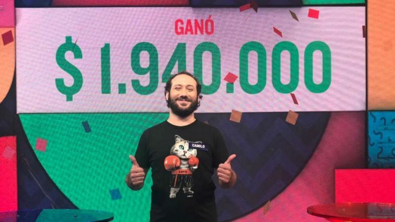 Ganó casi 2 millones de pesos en el programa