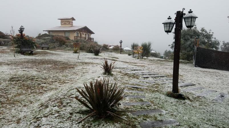 la cumbrecita nieve