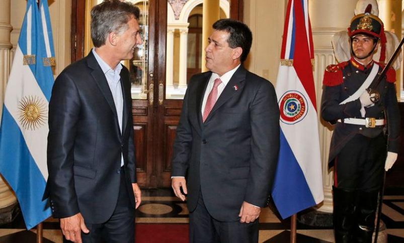 En medio de la pandemia, Macri viajó a Paraguay