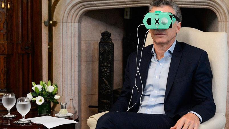 macri realidad virtual app dejar de fumar