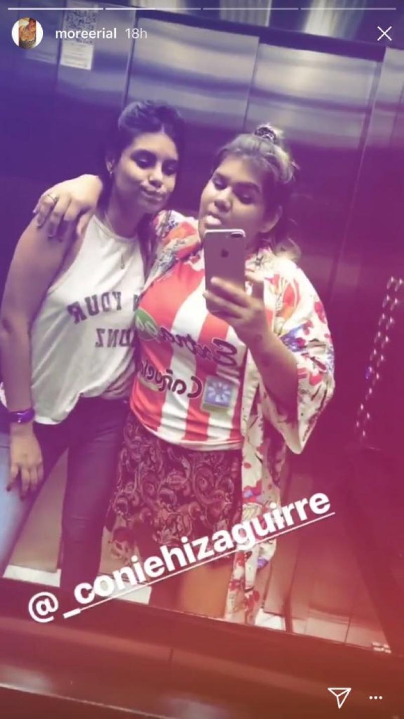 Morena Rial posó con la camiseta del equipo de su nuevo novio ...