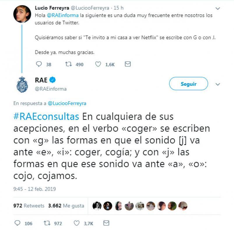 La RAE