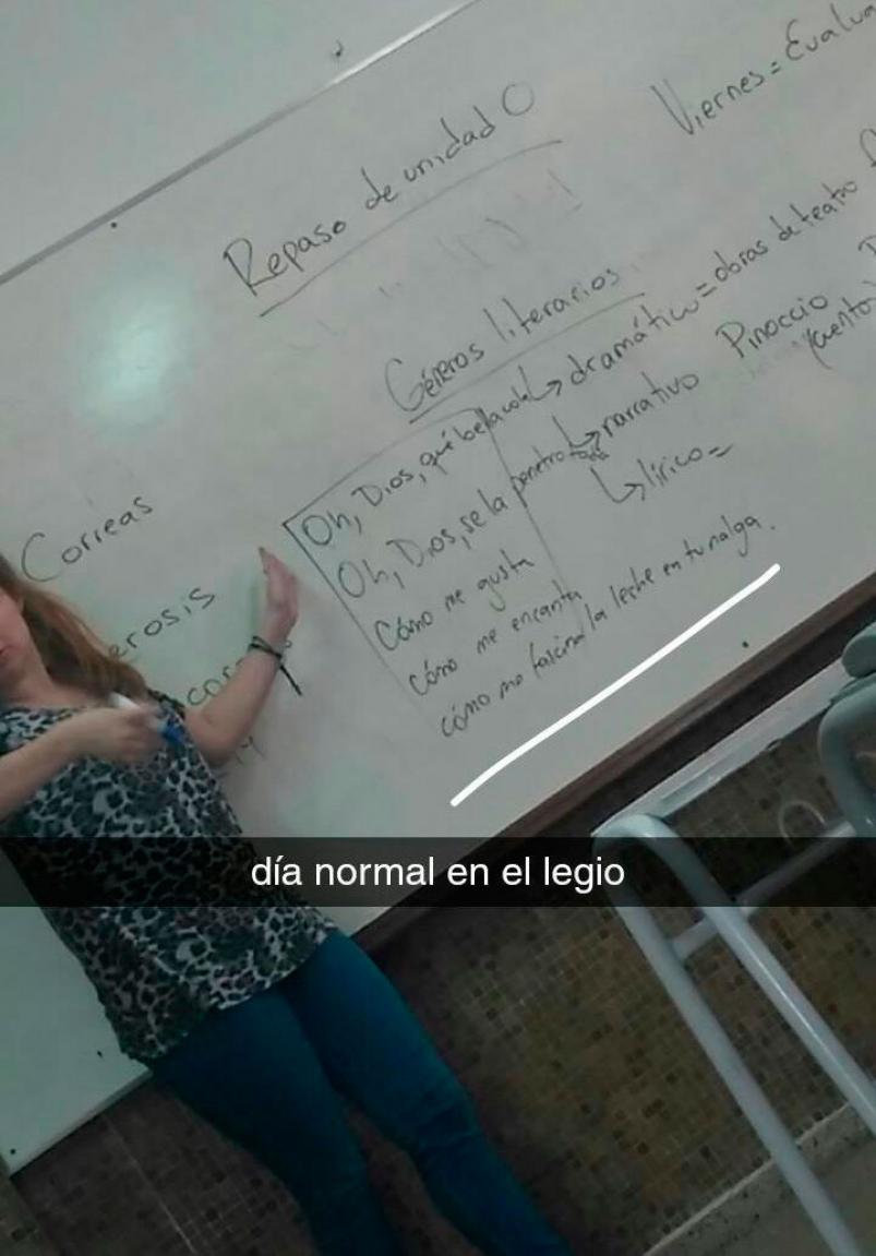 Despidieron A Una Docente Que Escribió Frases Obscenas En El