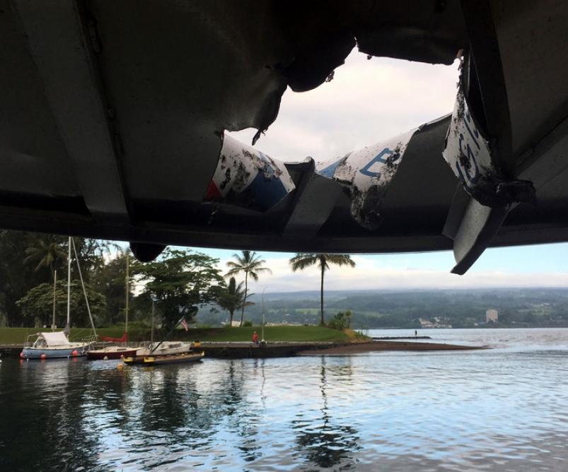 Unos 13 turistas heridos tras explosión de lava en Hawái, EE.UU