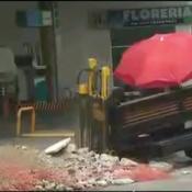 Fuga de gas y evacuación en Bº Pueyrredón