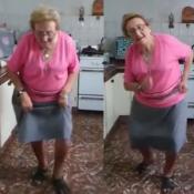 la abuela bailarina de cumbia de Río Cuarto