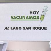 Hoy vacunamos al Lago San Roque