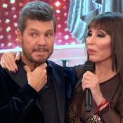 marcelo tinelli moria casan showmatch bailando 2017 garganta