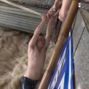 dramatico rescate en china
