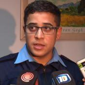 Policía Bazán heroe