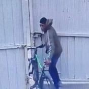 el ladrón quedó filmado por la cámara de seguridad