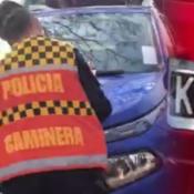 patente-ilegible-multa-policia-caminera-auto-cinta-cordoba-carlos-paz-viral-redes-sociales