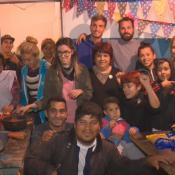 el comedor solidario con el que colabora Juan Cruz Komar, el defensor de Talleres