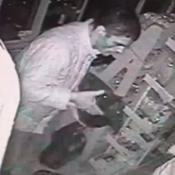 robo ladron camara seguridad kiosco