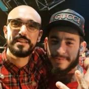Ulises Bueno y Abel Pintos