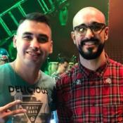 Federico Funes y Abel Pintos