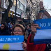 marcha contra el aborto