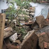 derrumbe casa barrio san salvador