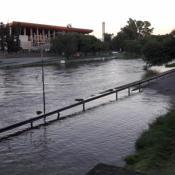 crecida del río suquía