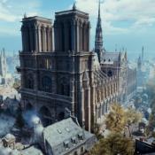 Assassin's Creed notre dame incendio reconstruccion paris videojuego