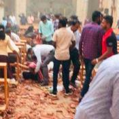 sri lanka explosión iglesia