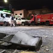 La explosión se produjo minutos después que saliera el dueño de la pizzería.