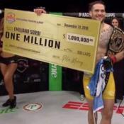 El riocuartense ganó un millón de dólares al consagrarse campeón mundial.