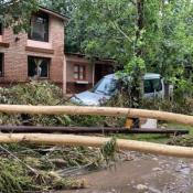 huerta grande danos tormenta creciente
