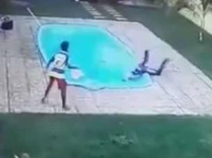 Ladrón muere ahogado después de recibir un disparo.