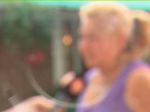 madre de daniel ludueña, el detenido por el crimen de abril sosa