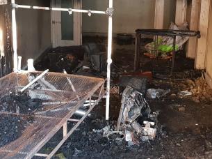 Incendio ayacucho al 1500