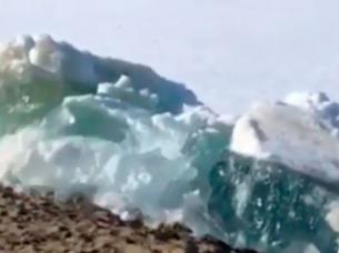 tsunami de hielo