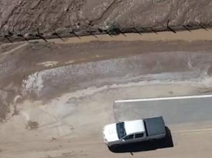 inundación autopista 19